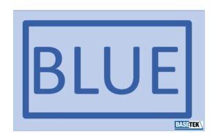 Team Blue logo for BaseTek COVID Teams