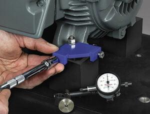 BiD Adjuster for precision motor alignment