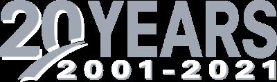 20 Years BaseTek logo