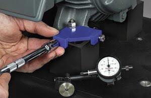 BiD-Adjuster for precision motor alignment