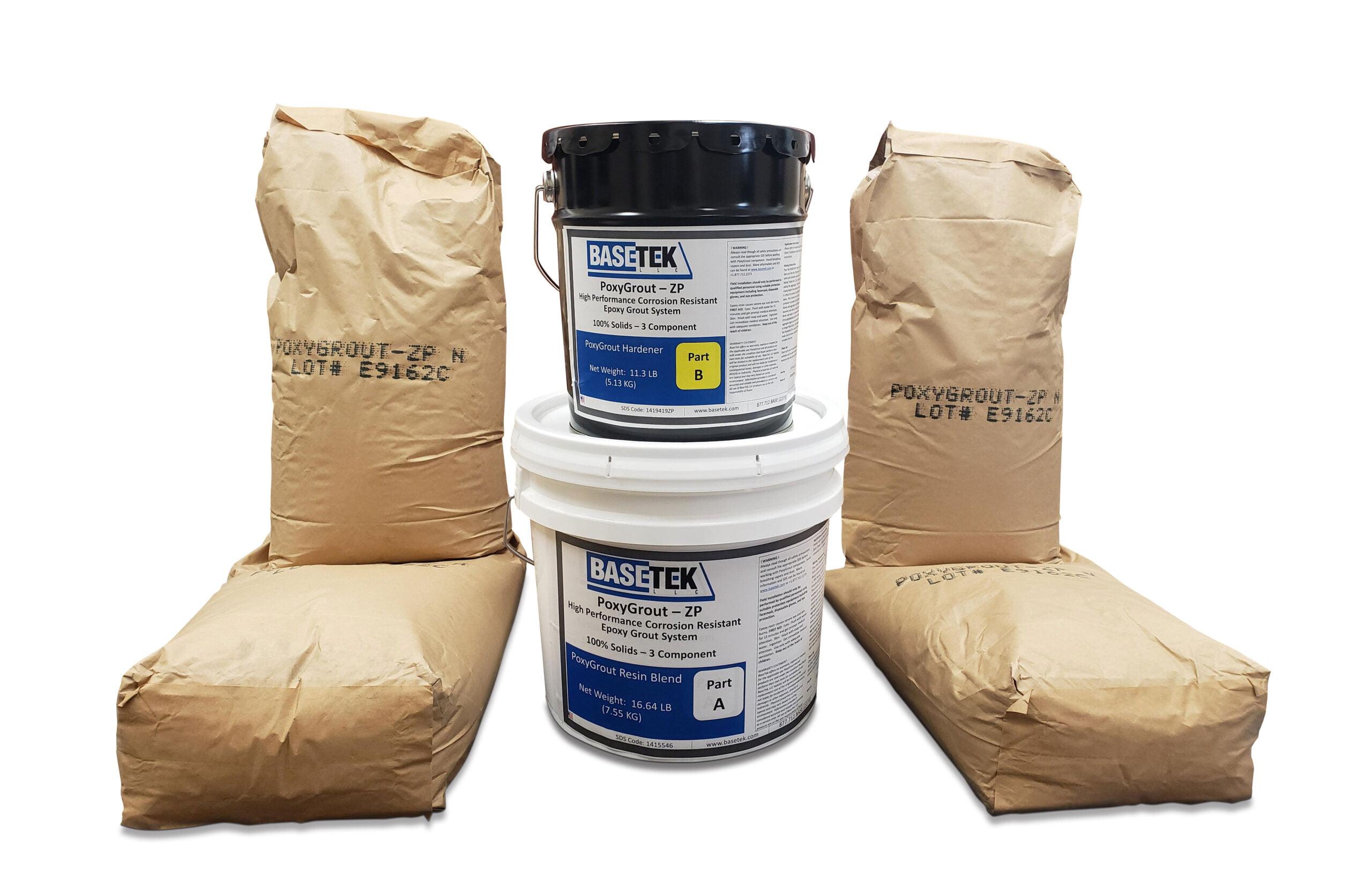 PoxyGrout 4 bag Zanite Plus epoxy grout system
