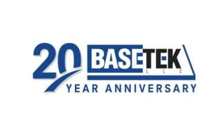 20 Year Anniversary BaseTek Logo